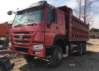 Sinotruck Howo 6x4 Heavy Duty Dump Truck Second Hand 20-30 Tons Loading
