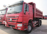 HOWO 6*4 10 Wheeler Euro 2 Heavy Duty Dump Truck 20t - 30t With 336 HP Engine